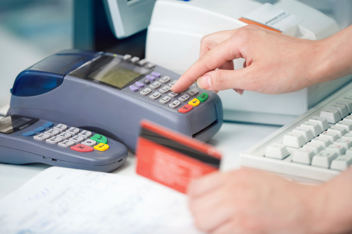 Magnetic card readers, chip card readers, and PIN pad hardware is used with our POS software
