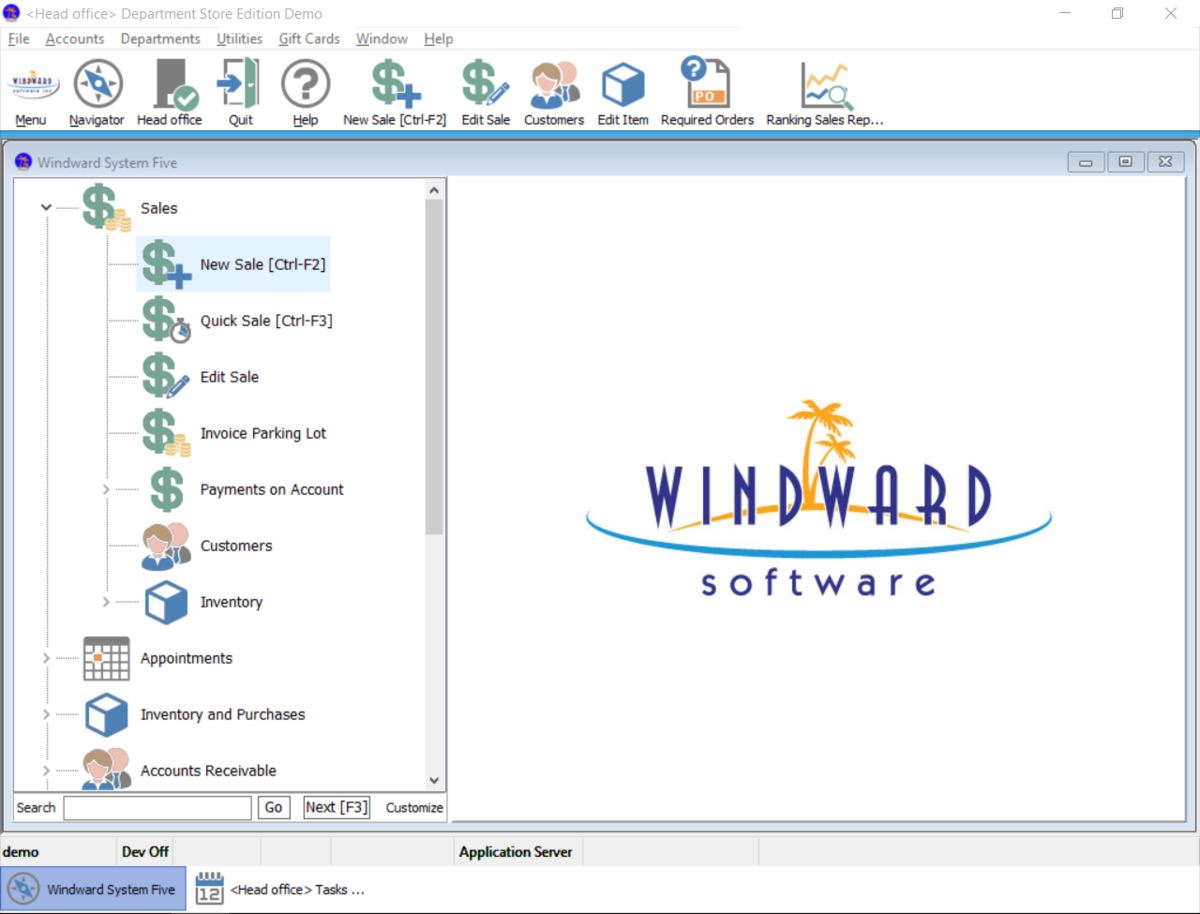 Windward's Point of Sale software is designed for retail, rental, and service-based industries - it works the way you do