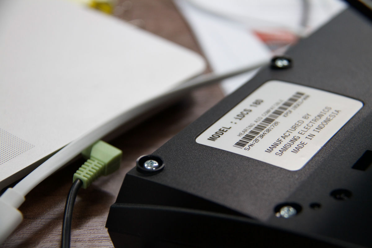 Tracking item serial numbers helps with future warranty work or allows compliance in industries that require it
