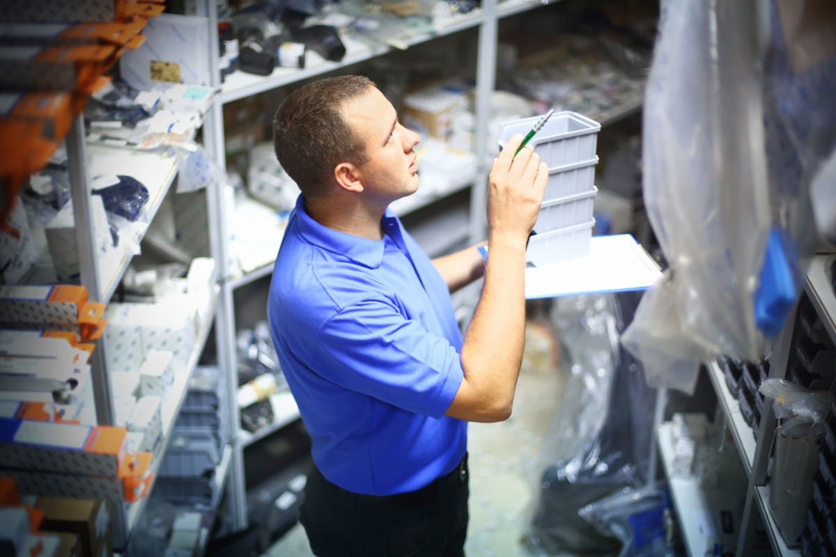 Count inventory efficiently - in hours not days